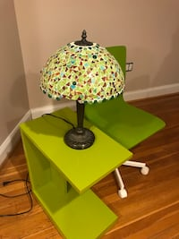 green and black table lamp Arlington, 22202