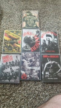 Complete sons of anarchy DVD collection Virginia Beach, 23460