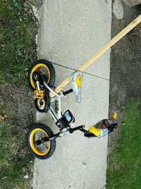 black and yellow BMX bike Manhattan, 60442