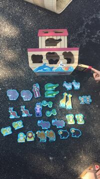 children's assorted animal shape toy set Guelph, N1E 7J2