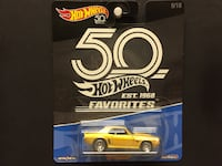 Hot Wheels 50th Anniversary Favorites Set B '69 Camaro 9/10 Saskatoon, S7K 6P9