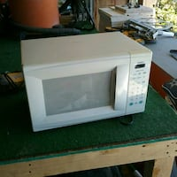 white General Electric microwave oven Albuquerque, 87121
