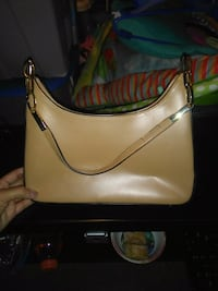 women's white and brown leather shoulder bag Edmonton, T5A 2H4