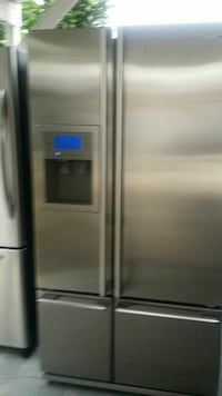 stainless steel side-by-side refrigerator Compton, 90221