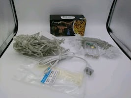 BrandNew LED Icicle Lights(Plug) & Star String Lights-Battery Operated