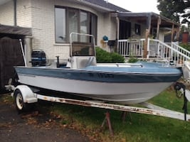 Marvac 18 ft. Fishing boat