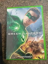 Green Lantern DVD case