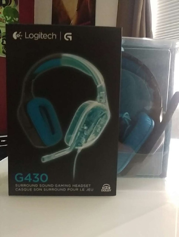7875d8f9e85 Used Logitech g430 surround sound gaming headset for sale in Orlando ...