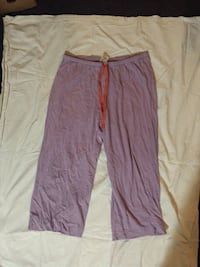 Purple capri small sleep wear