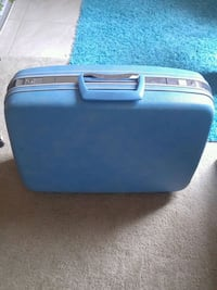 Blue vintage suitcase Columbia, 21044