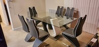 Modern Dining Room Table with 6 Chairs Silver Spring, 20906