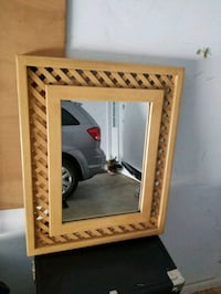 Mirror with wood trim Jackson, 38305