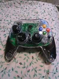 green and black Xbox 360 game controller South Portland, 04106