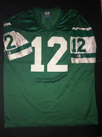 green and white NFL jersey shirt 2344 mi