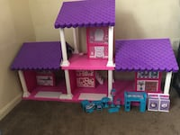 pink white and purple doll house Seat Pleasant, 20743
