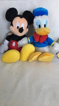 Mickey Mouse and Donald Duck. Bought from Disneyworld. Each was purchased for $20.95 usd Pickering, L1V 6H6