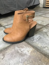 Tan Booties. Size 7. Barely worn Thibodaux, 70301