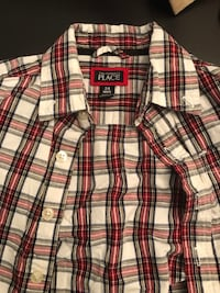 3 size 24 month boys flannel shirts