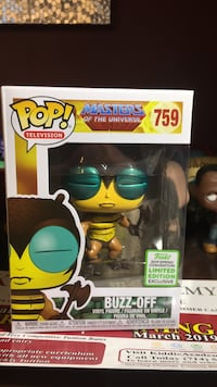 Funko Pop Buzz-Off 759 Santa Ana, 92701
