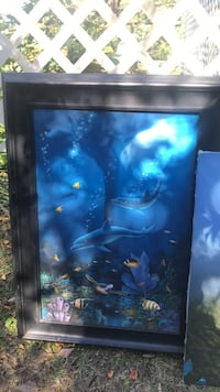 Underwater painting Ran into a situation where I need a couple bucks dropping the price to $100 until Monday 5 o'clock it's going back to the original price Pensacola