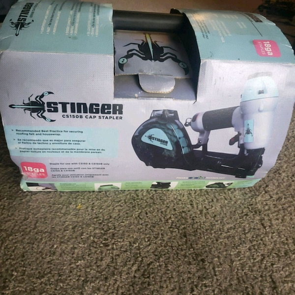 Stinger Cs150B Cap stapler