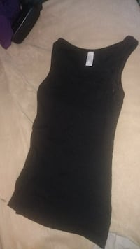 Black ribbed tank top Toronto, M6N 4P4