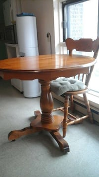 Beautiful solid maple dining set Pointe-Claire, H9R 5A6