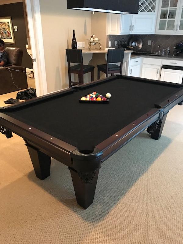 Awesome Modern Pool Table With Black Top Best Image Libraries Sapebelowcountryjoecom