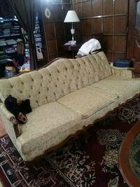 Antique tafted couch