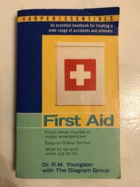 Essential First Aid Book Hougang, 530971