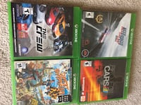 4 xbox one game Edmonton, T5A 4A4