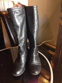 Women's leather boots Spruce Grove, T7X