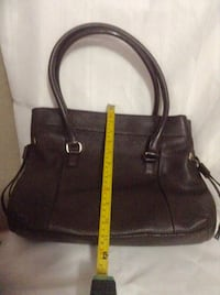 Kate Spade! Like New Pebble Leather Soft Dark Choc Olivehurst, 95961