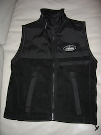 Guinness Draught Beer Black Vest Jacket Toronto