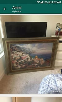 Painting in frame Gaithersburg