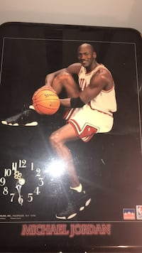 1998 Michael Jordan Clock Arlington, 22204