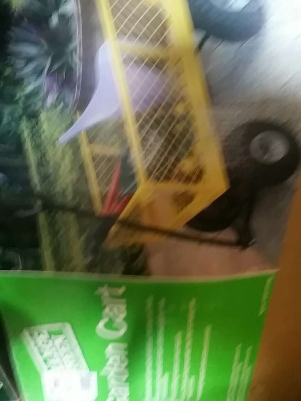 Used New garden cart in box for sale in Redford Charter Township - letgo