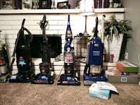 black and blue upright vacuum cleaner Fresno, 93705