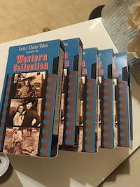(6) VHS Western  Collection  series Johnstown, 15906