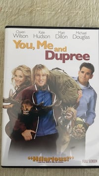 You , Me and Dupree dvd