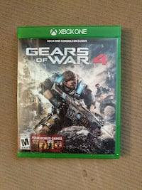 Gears of War 4 Xbox One game case Omaha