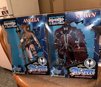 Both spawn and Angela supersize figures