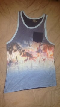 Blue and white tank top Laurel, 20707