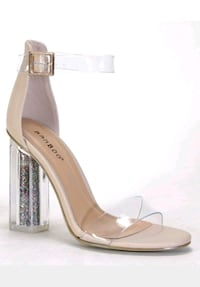 open-toe ankle strap heels Chicago, 60655