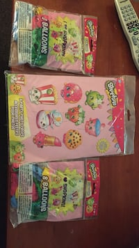 Shopkins theme party supplies. Wappingers Falls, 12590