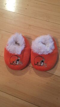 red and white fur shoes football helmet Westlake, 44145