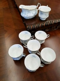 Paragon Stoke-on-Trent bride's Choice 7 Cups and  1 more piece Welland, L3B 1A5