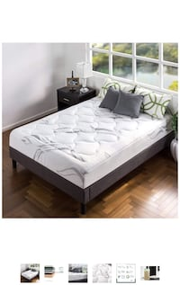 Full sized mattress and bed frame Minneapolis, 55404