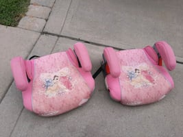 Disney Princess booster seats