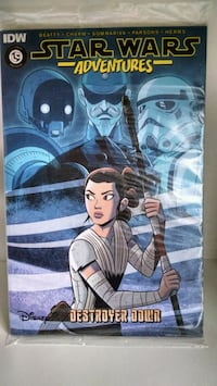 Loot Crate Star Wars Adventures graphic novel Lisle